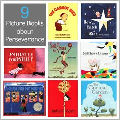 The beginning of the year (or beginning of the school year) is a great time to talk about setting goals and perseverance. This children's book list contains a collection of picture books perfect for initiating conversations about never giving up and always reaching for the stars!