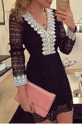 Lace Dresses For Women | Cheap Black And White Lace Dresses Online At Wholesale Prices | Sammydress.com