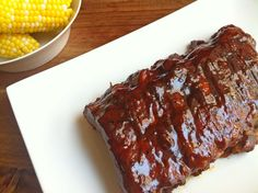 Ashley Marie's Kitchen: Barbecue Ribs