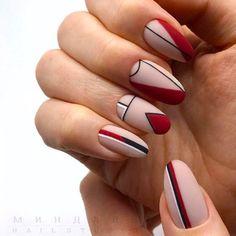 24 Beautiful Matte Short Almond Nails Design For Spring Nails - Discover Beauty, create beauty Matte Nails, Gel Nails, Nail Polish, Glitter Nails, Classy Nail Designs, Fall Nail Designs, Classy Nails, Stylish Nails, Trendy Nail Art
