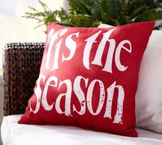 Tis the Season Indoor/Outdoor Pillow