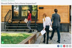 "We tackled the common question, ""Should sellers get a home inspection?"" Here's the simple answer, broken down into 7 handy bullet points. Us Real Estate, Real Estate Tips, Real Estate Services, Real Estate Investor, Real Estate Marketing, Home Focus, Real Estate Information, Home Inspection, Selling Your House"