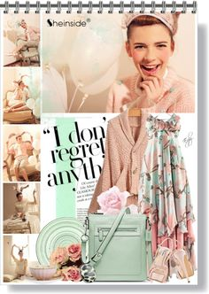 """""""Minty @ Sheinside"""" by eyly ❤ liked on Polyvore"""