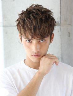 Japan Hairstyle, Men Hair Color, Fresh Hair, Facial Hair, Hair Cuts, Hair Beauty, Hair Styles, Men's Hair, Bangkok