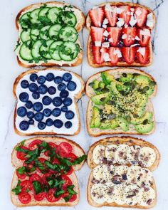 The healthy way to get your sandwich done. I want to eat every of these.