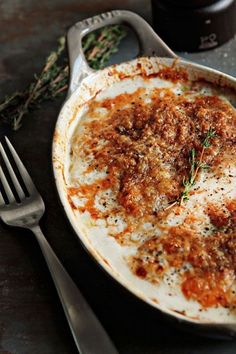 Scalloped Potatoes recipe. So delicious for weeknight dinners or special occasions.