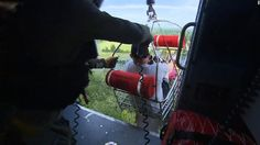 nice Cooper rides along in dramatic chopper rescue