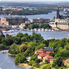 Ville d'îles sur lesquelles trônent de superbes édifices...