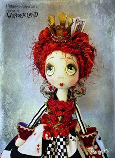 OOAK Art Doll Urchin Queenie