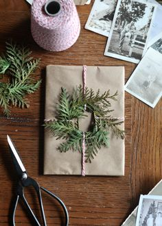 Inexpensive DIY Gift Wrapping Ideas Christmas wrapping papercreative-ideasChristmas Is Christmas Is may refer to: Noel Christmas, Winter Christmas, Christmas Wreaths, Christmas Decorations, Simple Christmas, Handmade Christmas, Christmas Ideas, Green Christmas, Christmas Paper