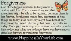Quotes About Living - Doe Zantamata: Forgiveness - Acceptance of what is lost