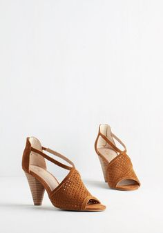 Seychelles Gamble Heel in Caramel | Mod Retro Vintage Heels | ModCloth.com