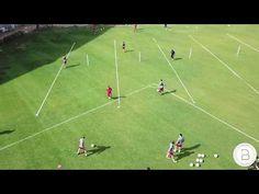 Conducción, pase, perfil - YouTube Football Drills, Soccer, Youtube, Profile, Soccer Drills, Football, Soccer Ball, Soccer Workouts, Futbol