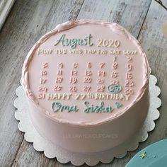 25th Birthday Cakes, Elegant Birthday Cakes, Pretty Birthday Cakes, Pretty Cakes, Beautiful Cakes, 25th Birthday Parties, Cake Design For Men, Simple Cake Designs, Simple Birthday Cake Designs