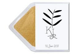 Einladung zur Hochzeit personalisierbar unter www.carte-royale.com