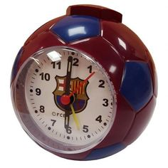 football shape alarm clock approx x requires 1 x AA Battery (not included) in a gift box official licensed product Ronaldo Real Madrid, Real Madrid Football, Barcelona Football, London Football, Messi, Neymar, Steven Gerrard, Zinedine Zidane, Ac Milan