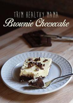 Brownie Cheesecake (Trim Healthy Mama)