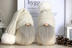 Scandinavian Gnomes Couple With Legs Diy Christmas Presents, Etsy Christmas, Scandinavian Gnomes, Scandinavian Christmas, Christmas Knomes, Faux Fur Pom Pom, Holiday Crafts, Handmade, Holidays