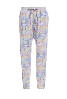 Image for Unicorn Drop Crotch Pj Pant from Peter Alexander
