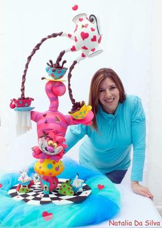 Alice in wonderland! - Cake by Natalia Da Silva Carmona