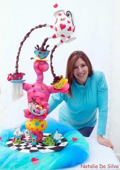 Alice in wonderland! - Cake by Natalia Da Silva Carmona