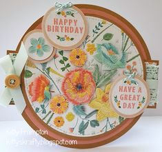 Kittys Krafty Blog: Embroidery Birthday