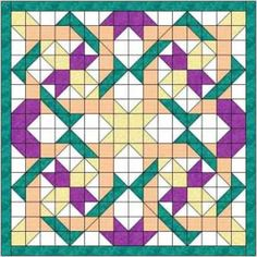 The Nancys fancy quilt block makes a gorgeous quilt, looking complex but actually easy to make. Big block quilt with video included. Big Block Quilts, Star Quilt Blocks, Star Quilts, Mini Quilts, 3d Quilts, Half Square Triangle Quilts, Square Quilt, Barn Quilt Patterns, Pattern Blocks