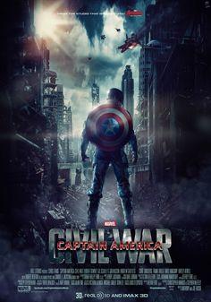 Captain America : Civil War Custom Movie Poster/Promo on Behance