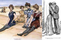 Ilustradores de moda inolvidables del s xx