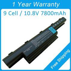 New 7800mah laptop battery for acer Aspire 4738ZG 4741ZG 4743ZG 4750Z 4752ZG 4755ZG 4771Z AS10D51 AS10D73 BT.00603.124