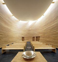 Helsinki's Kamppi Chapel of Silence / K2S Architects | Architectural Digest
