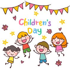 Children's Day May Be Refurbished As Uncle's Day: Politics In The Name Of Children of India - Virily Easy Drawings For Kids, Drawing For Kids, Painting For Kids, Art For Kids, Happy Children's Day, Happy Kids, Kids Vector, Vector Free, Children's Day Craft
