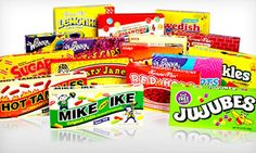 $29 for a 16-Piece Retro Candy Collection | Groupon