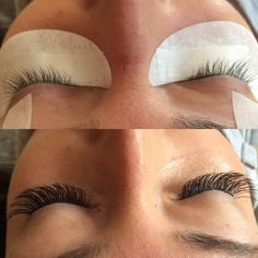 Before & after @ariels hair and eyelash extension studio