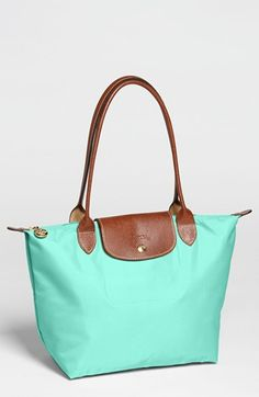 Longchamp 'Le Pliage - Small' Shoulder Bag. Love the color