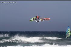 Flying high - Windsurfing by Ricardo Campello