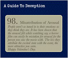 A Guide To Deception — Read about the study here.