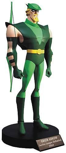 Justice League Unlimited Green Arrow Limited Edition Maquette 256 1100 DC JLA | eBay