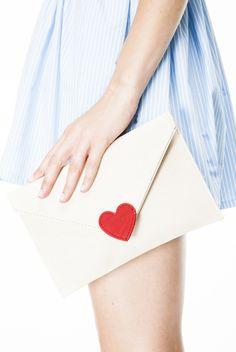 LOVE LETTER ENVELOPE BAG