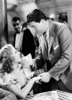 Jean Harlow and Spencer Tracy