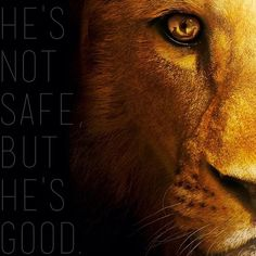 """""""You mustn't press him. He's wild, you know. Not like a tame lion."""" - Aslan's portrayal is so strong, so majestic, and yet so tender."""