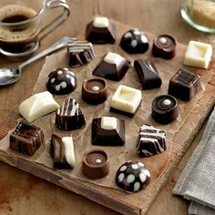 Speciality Silicone Chocolate Moulds. Great for making handmade chocolates and truffles as Christmas gifts