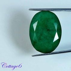 32.35Cts. ALLURING!! NATURAL GREEN EMERALD OVAL CUT GEMSTONE BRAZIL #UNBRANDED