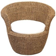"""30"""" Maize Rope Chair"""