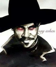 Those eyes! - Val Kilmer, Doc Holliday from Tombstone. Tombstone Movie Quotes, Tombstone 1993, Doc Holliday Tombstone, Im Your Huckleberry, Wyatt Earp, Val Kilmer, Cowboy Art, Maquillage Halloween, Western Movies