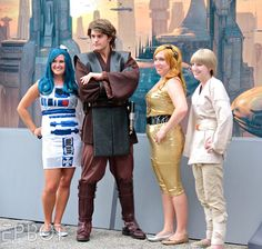 Found this online!  I would love to be able to make that R2 dress!
