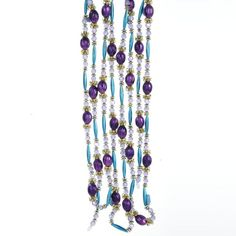 9' Regal Peacock Purple, Turquoise and Gold Beaded Christmas Garland Kurt Adler,http://www.amazon.com/dp/B0093OCL1A/ref=cm_sw_r_pi_dp_BdNPsb0K0NK9EV74