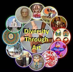 Multicultural Activity Ideas | Multicultural+artwork