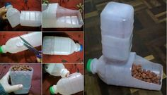How can we re-use plastic bottles? Here a easy way turn two regular plastic bottles into a cool and cheap pet Feeder. What needed: 2 plastic bottles Pet food Scissors How to do: cut a hole on one of the bottles with scissors. The space should be a little wider than the mouth of bottle. …