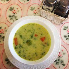 Tradycyjna jarzynowa , pyszna i zdrowa 😉 #obiad #obiadek #zupa #zupajarzynowa #pycha #pyszne #brukselka #fasolkaszparagowa #warzywa #jarzyny #soup #vegetablesoup #yummy #healthy #healthyfood #homecooking #homemade #instafood